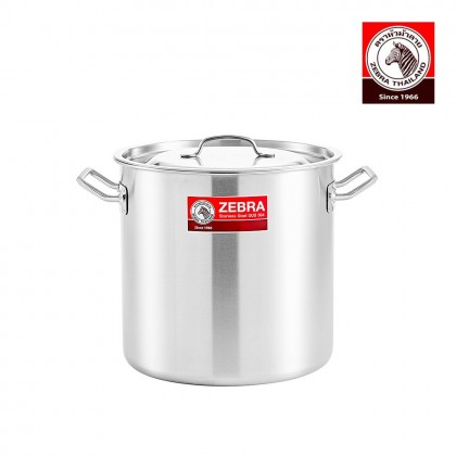 Zebra 26X26cm Cheffy Stock Pot
