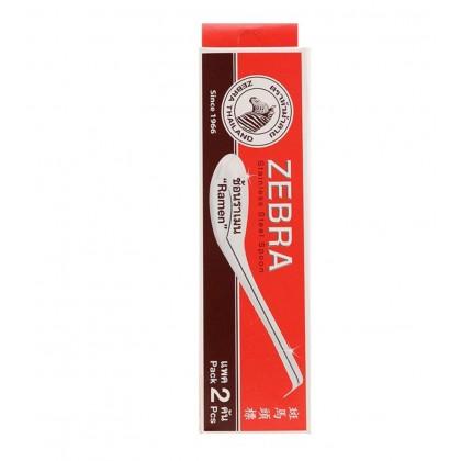 Zebra 2 Pcs Ramen Spoon