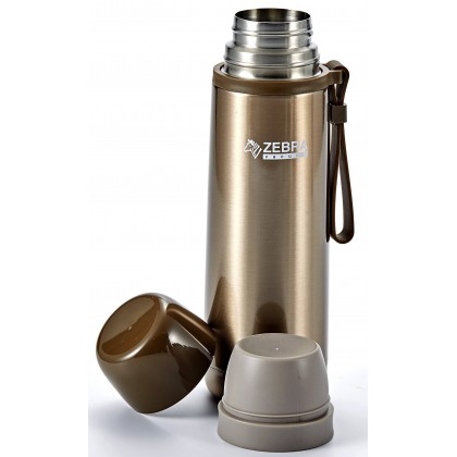 Zebra 0.5L Picnic Vacuum Flask