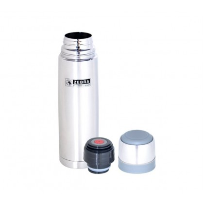 Zebra Prima II Vacuum Flask (0.35L/0.45L/0.8L/1.0L)