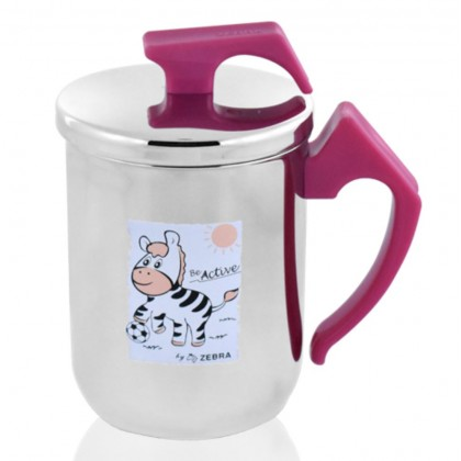 Zebra 350ml Extra Zelect Double Wall Mug