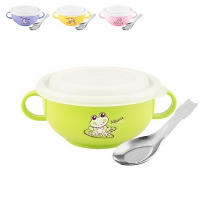 Zebra Kiddy Bowl With Spoon III