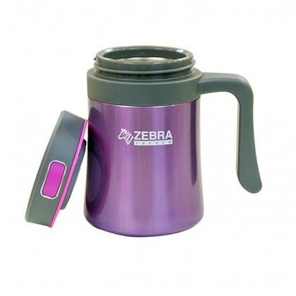 Zebra 0.4L Zelect Vacuum Mug W/Handle
