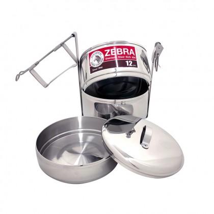 Zebra 12 X 2 Food Carrier W/Half Tray & Bag