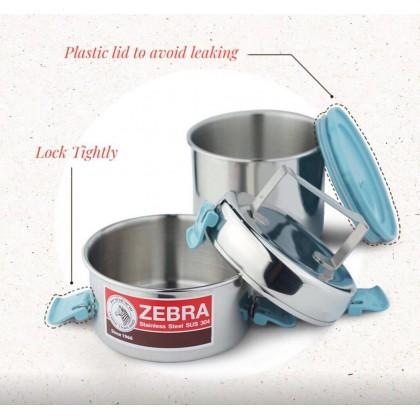 Zebra 12cm X 2 Smart Lock II Food Carrier