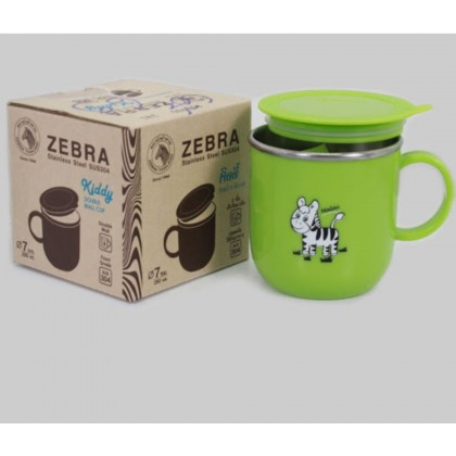 Zebra 250ml Kiddy Cup With Lid