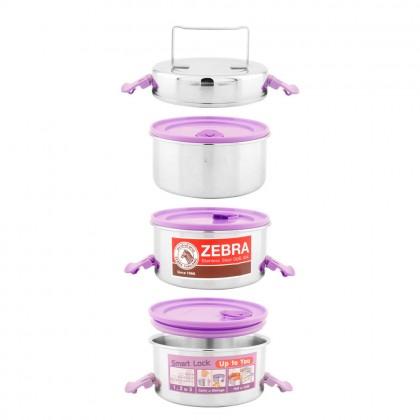 Zebra Smart Lock II 14cm X 3 Food Carrier