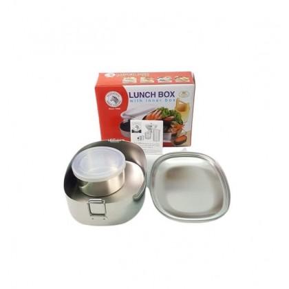 Zebra 16cm Lunch Box W/Inner Box