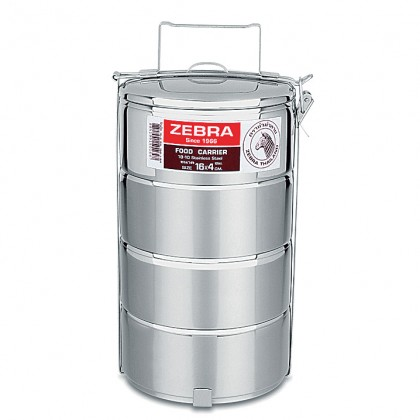 Zebra 16cm X 4 Food Carrier