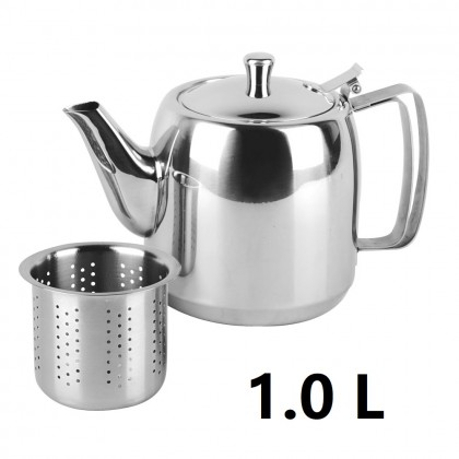 Zebra Prima Tea Pot With Filter (1.0L/1.5L)