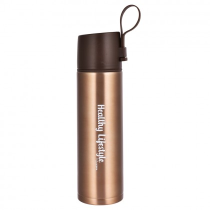 Zebra 0.45L Healthy Vacuum Flask